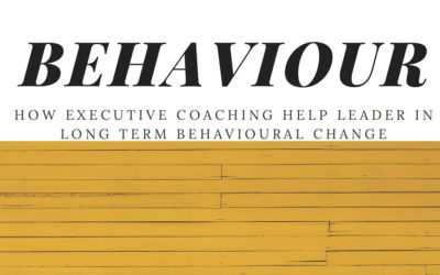 How Executive Coaching help Leader in long Term Behavioural Change